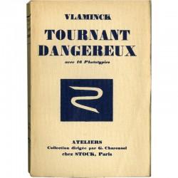 couverture Maurice Vlaminck Tournant dangereux