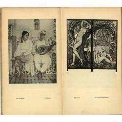 double page de la plaquette du  Salon d'Automne de Lyon, 1924
