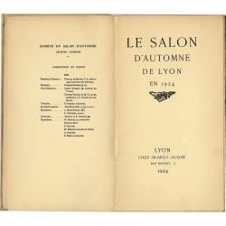 Salon d'Automne de Lyon, préface de Paul Creyssel, 1924