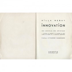 Innovation, une nouvelle ère artistique, par Hilla Rebay, œuvres de la collection Guggenheim