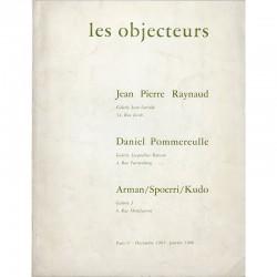 Les objecteurs, catalogue publié à l'occasion de trois expositions
