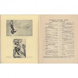 Tableau chronologique des ballets et opéras russes montés par Diaghilew de 1908 à 1929
