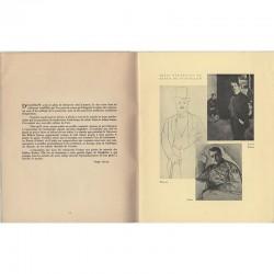 Trois portraits de Diaghilev par Picasso, Baskt et Sérov
