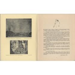 Textes sur les ballets russes de Diaghilev par Jean-Louis Vaudoyer, Jean Cocteau, Misia Sert