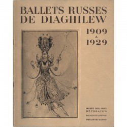 Ballets russes de Diaghilew 1909 à 1929, exposition de Serge Lifar, 1939