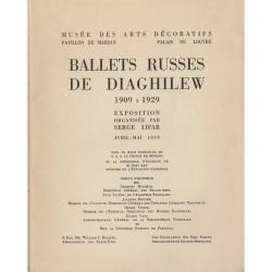 Catalogue de l'exposition de Serge Lifar sur les ballets russes de Diaghilev, 1939