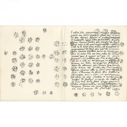 fac-similé autographié de Pierre-André Benoît et dessins de Camille Bryen
