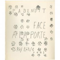 Pierre-André Benoît et Camille Bryen, Face à la porte, 1973