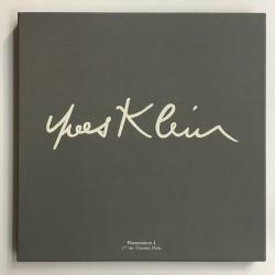 boite du foulard Yves Klein, édité par Flammarion 4 en 1993