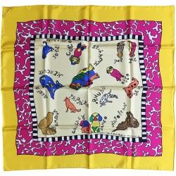 foulard de Niki de Saint Phalle d'après un dessin réalisé spécialement par l'artiste pour Flammarion 4
