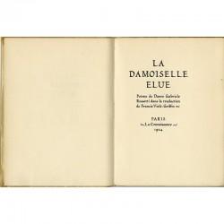 Dante Gabriel Rossetti, La damoiselle élue, traduction en français de Francis Viélé-Griffin