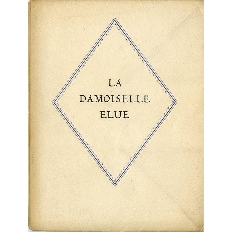 Dante Gabriel Rossetti , La damoiselle élue, 1924
