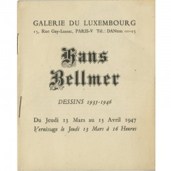 Hans Bellmer, Dessins, 1935-1946, Galerie du Luxembourg