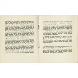 texte de Joë Bousquet pour le catalogue de la première exposition personnelle de Hans Bellmer à Paris