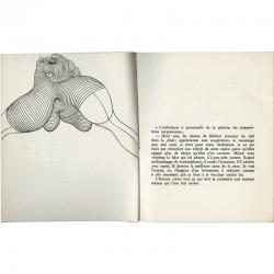 dessin de Bellmer : le céphalopode de L'Anatomie de l' image