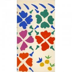 """carton d'invitation pour l'inauguration de la """"Donation Matisse"""", à Nice en 1962"""