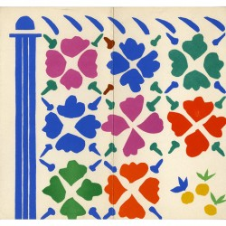 Henri Matisse, papiers découpés, imprimé en 8 couleurs