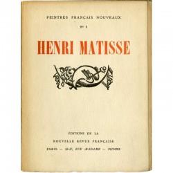 Henri Matisse, Peintres français nouveaux, NRF, 1920