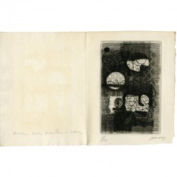 gravure originale n° 68/150 pour une gravure de Jean Couy