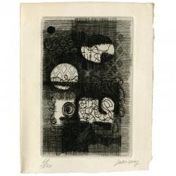 carte de vœux de Jean Couy adressée à Raoul Jean Moulin