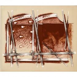 lithographie de Gérard Titus-Carmel, 1982