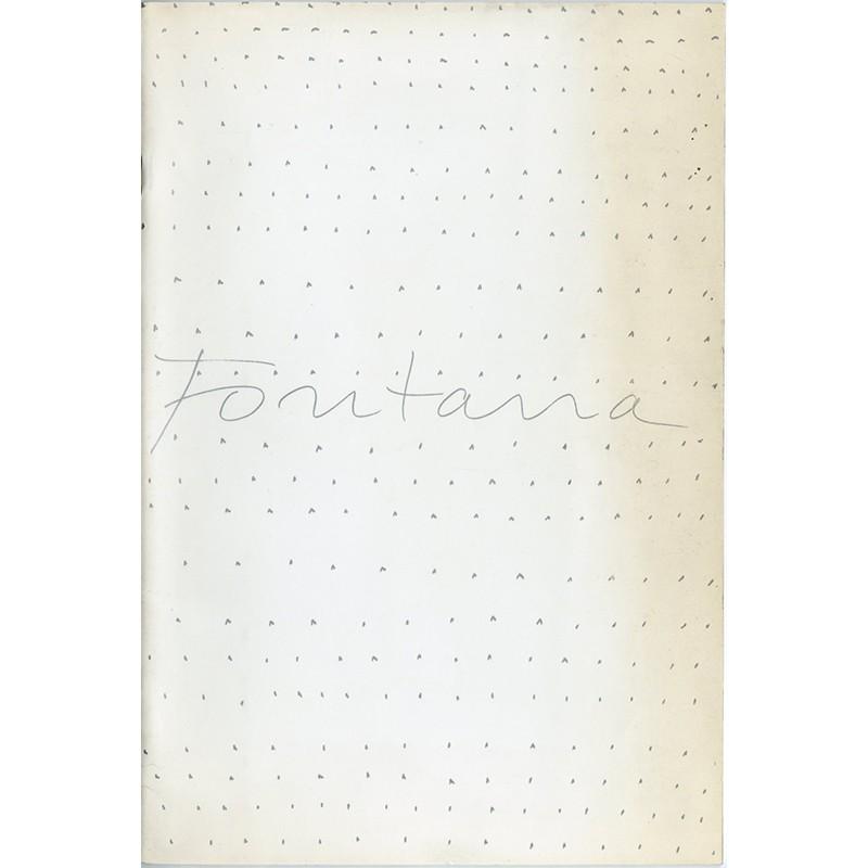 Catalogue Fontana,  Stedelijk Museum, Amsterdam et Stedelijk Abbemuseum, Eindhven, 1967
