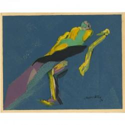 lithographie de Jacques Villon signée dans la planche