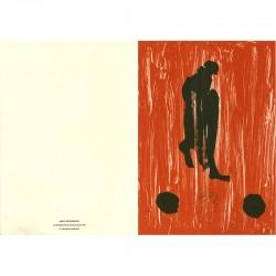 carte de voeux, Max Neumann, 1991