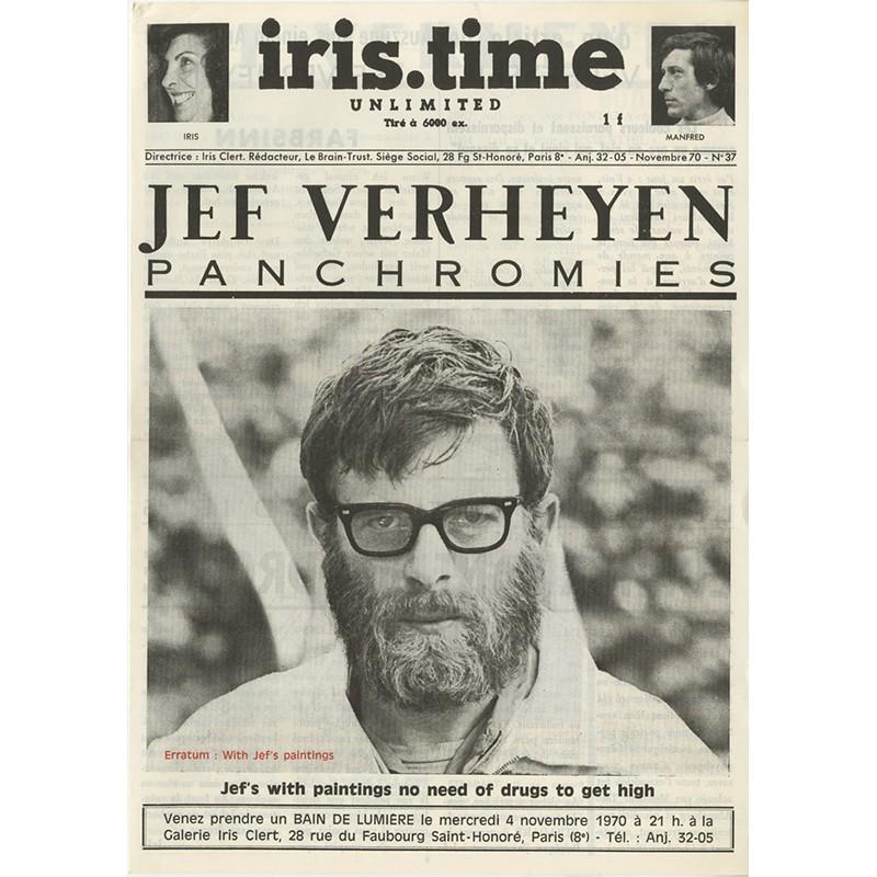 "Revue ""Iris-Time"" n° 37 d'Iris Clert, 1965"