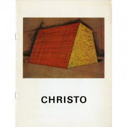 Catalogue de l'exposition Christo et Jeanne-claude, Otterlo Mastaba. Project for the Rijksmuseum Kroller-Muller, Otterlo