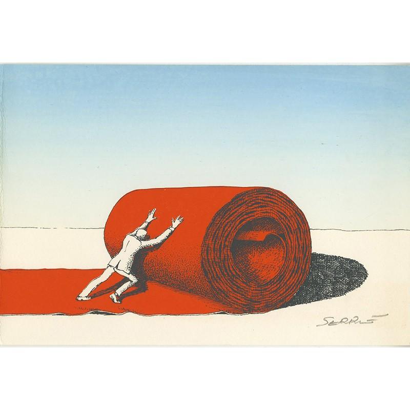 illustration originale de Serre, 1970