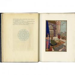"""Illustration de Terzian pour le livre """"Abou-Nouas"""" publié par Si Kaddour Ben Ghabrit"""