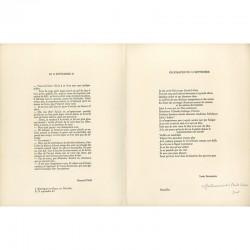 deux textes de Bernard Noël et Louis Scutenaire
