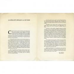 """Le texte de Jean Restany """"La réalité dépasse la fiction"""", 1960"""