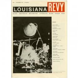 Jean Tinguely en couverture de la revue Louisiana Revy n°1, 1961