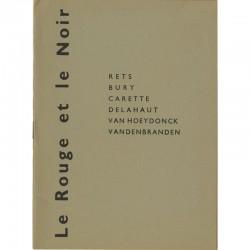 Catalogue pour l'exposition de Pol Bury, Paul Van Hœydonck, Jo Delahaut, Fernand Carette, Guy Vandenbranden, Jean Rets, 1957
