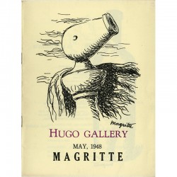 Catalogue pour l'exposition de René Magritte à la Hugo Gallery*, New York, en mai 1948