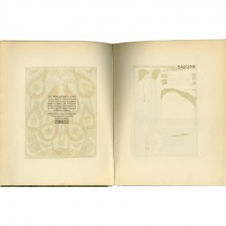 "exemplaire numéroté de ""Salomé"" d'Oscar Wilde, illustré de 16 dessins d'Aubrey Beardsley"