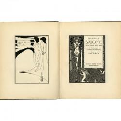 """dessins d'Aubrey Beardsley pour la tragédie d'Oscar Wilde """"Salomé"""", 1919"""