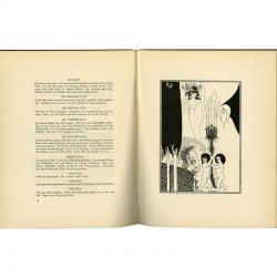 "dessins d'Aubrey Beardsley pour ""Salomé"", pièce d'Oscar Wilde, 1919"