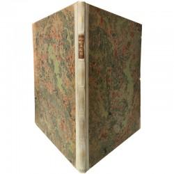 """dos de la reliure du livre """"Salomé"""" d'Oscar Wilde, illustré par Aubrey Beardsley, 1919"""