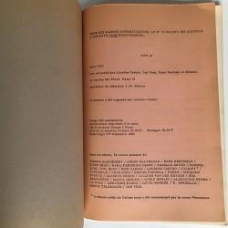 KWY n°12 1963, revue créé par Lourdes Castro et René Bertholo