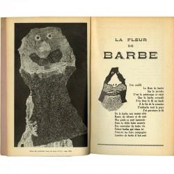 Jean Dubuffet : La Fleur de Barbe, in Viridis Candela, cahiers du collège de pataphysique, 1960