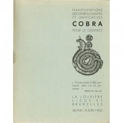 Christian Dotremont, Manifestations Cobra, 1950