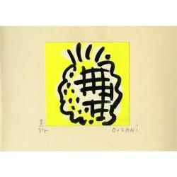 dessin original de Mélik Ouzani pour ses voeux de l'année 1982