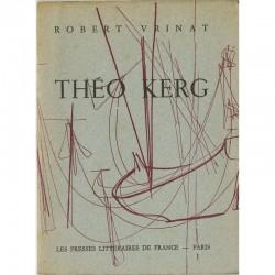 Théo Kerg, par Robert Vrinat, ca. 1950