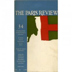 The Paris Review, couverture de James Bishop, 1965