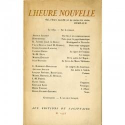"""Revue """"L'heure nouvelle"""" n°2, sous la direction d'Arthur Adamov, 1946"""