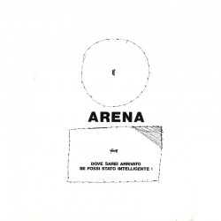 une des 10 feuilles perforées du catalogue pour l'expositions Beuys, Studio Marconi, 1973
