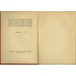 """""""L'allure poétique"""", poèmes de Jacques Baron, exemplaire n° 374"""